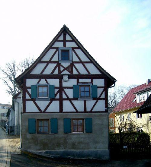 fachwerkhaus truss wood