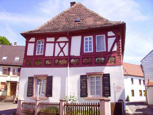 fachwerkhaus germany truss structure