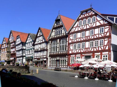 fachwerkhäuser bad wildungen old town