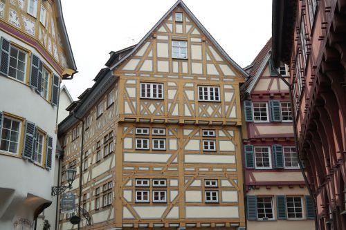 fachwerkhäuser esslingen old town