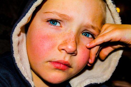 facial child little boy