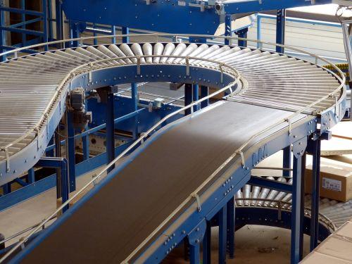 factory industrial hall logistics