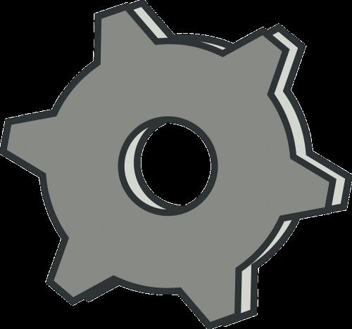 factory gear gray