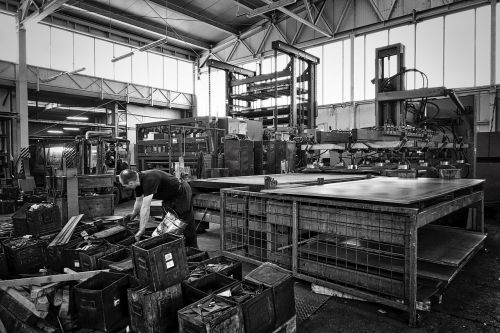 factory manufacture industrial