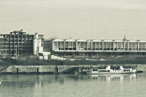 factory river ship