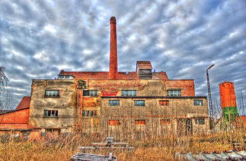 factory lost places old