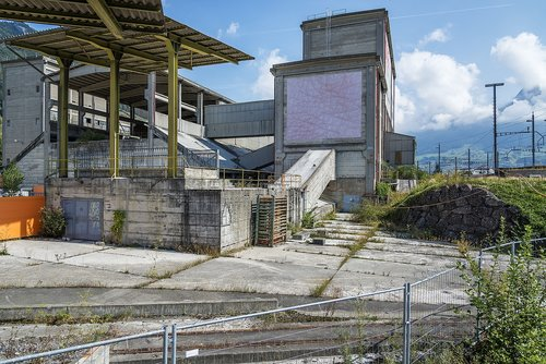 factory  abandoned  building