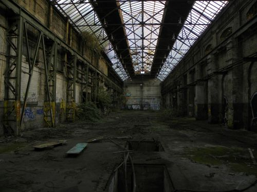 factory industry old