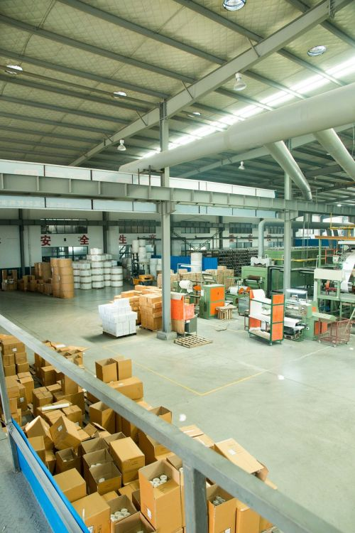 factory warehouse box