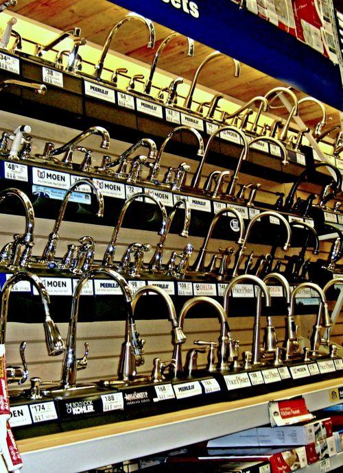 Faucet Display
