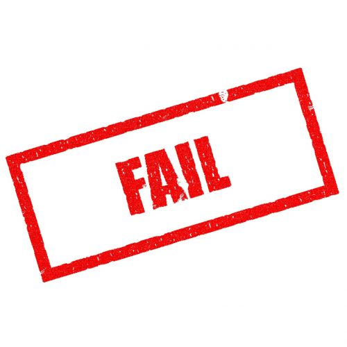 fail lose failing