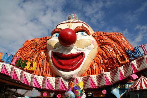 fair clown ride