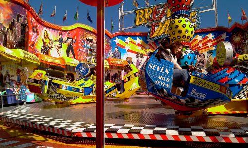 fair carousel colorful