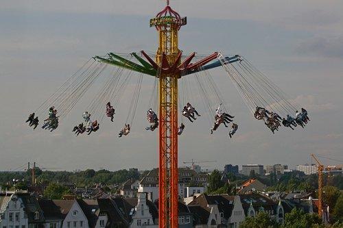 fair  carousel  chain carousel