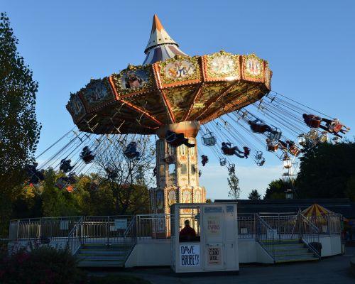 fairground ride lightwater valley