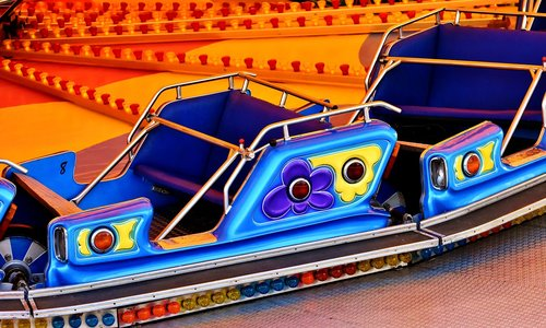 fairground  ride  carousel
