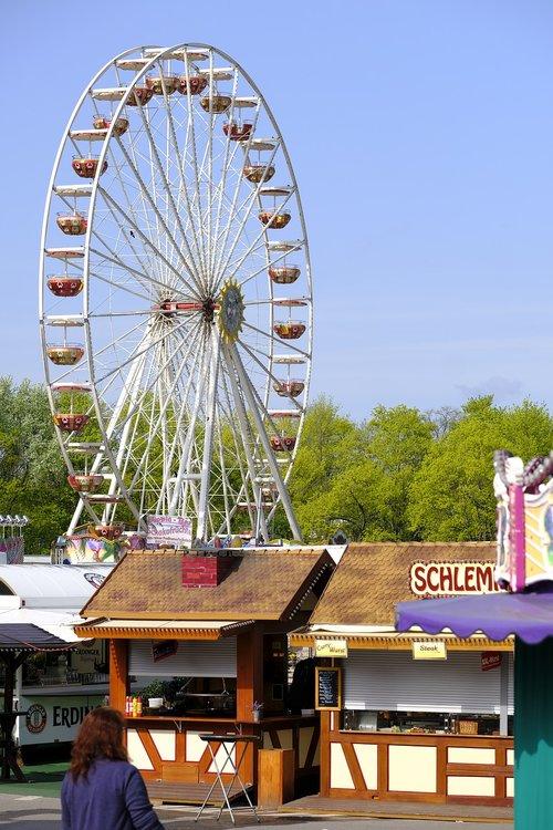 fairground  festival site  festival