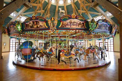 Fairground Merry Go Round Carousel