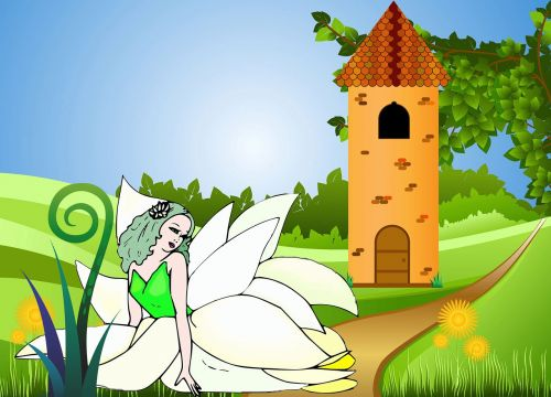 fairy landscape fairy tales