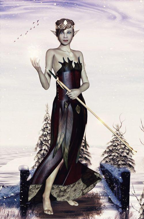 fairy female woman