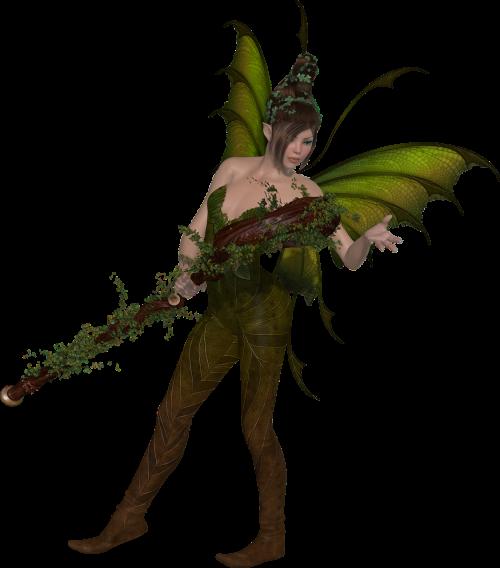 fairy fae woman