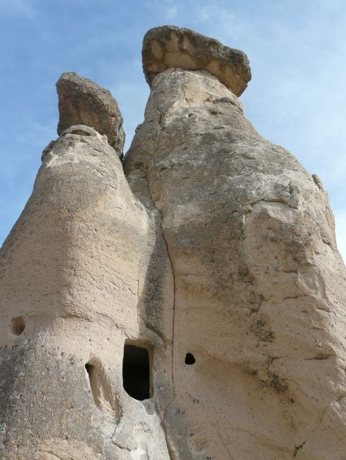 fairy chimneys apartment residential structure