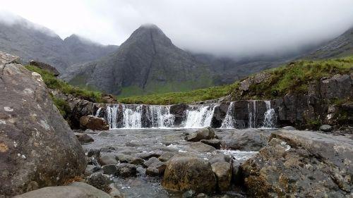 fairy pools scotland nature