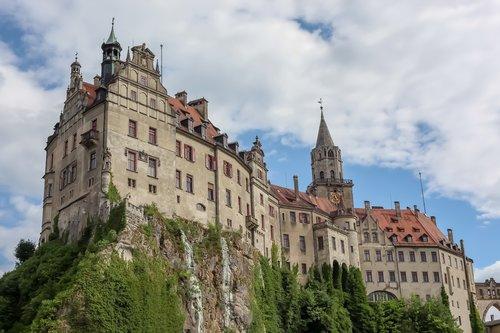 fairy tale castle sigmaringen  sigmaringen  fairy castle