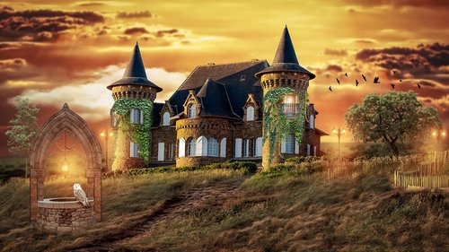 fairy tales  house  architecture