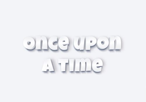fairy tales font once upon a time