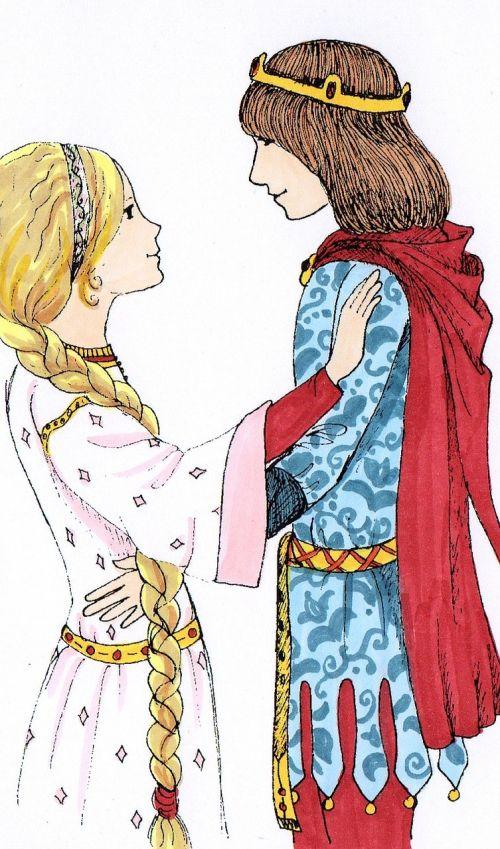 fairy tales prince princess