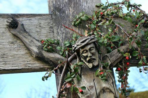faith cross wooden crucifix crucifixion