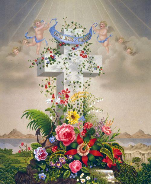 Faith Hope Charity Painting