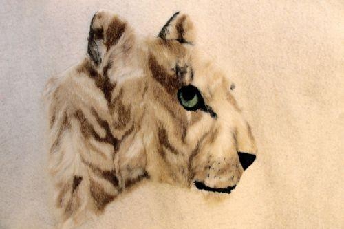 Fake Fur Animal Portrait