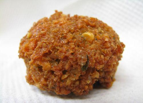 falafel deep-fried ball