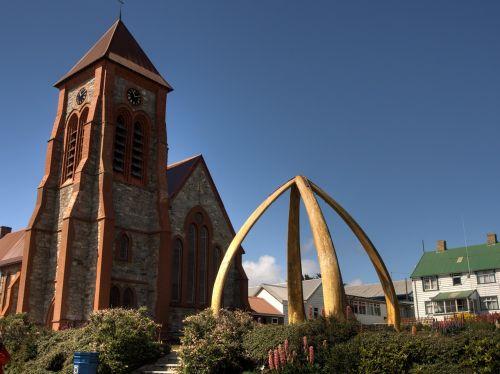 falkland church whale ribs