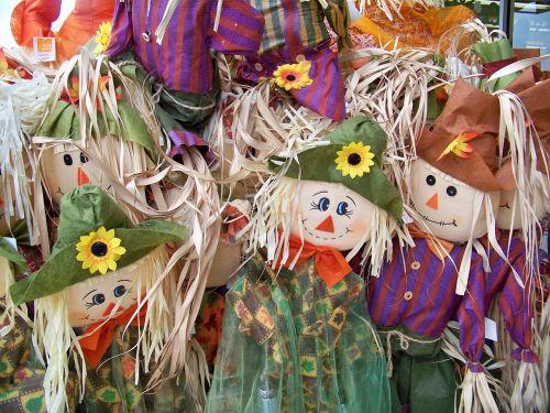 fall autumn scarecrow