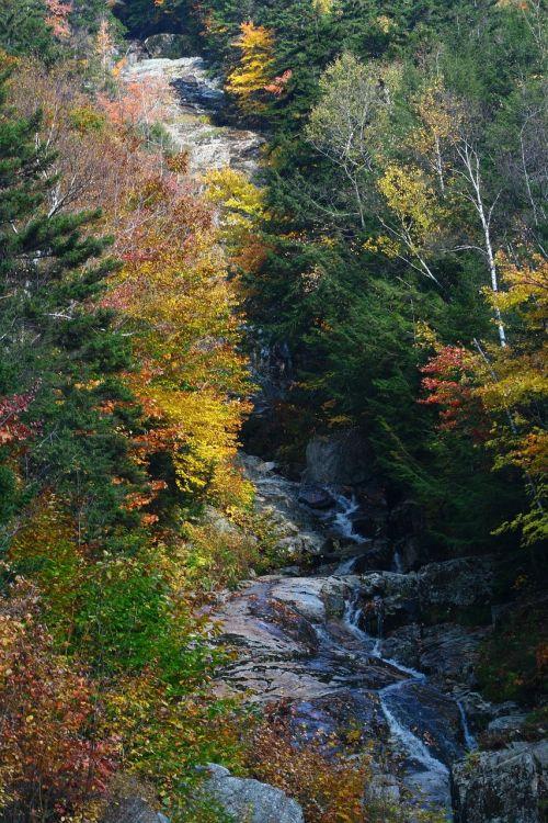 fall waterfall new hampshire