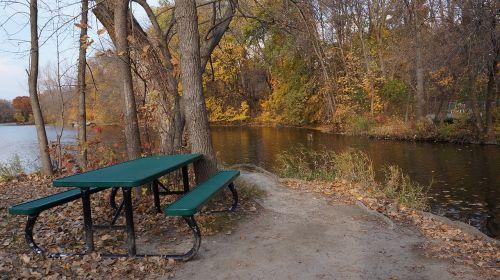 fall campsite three rivers