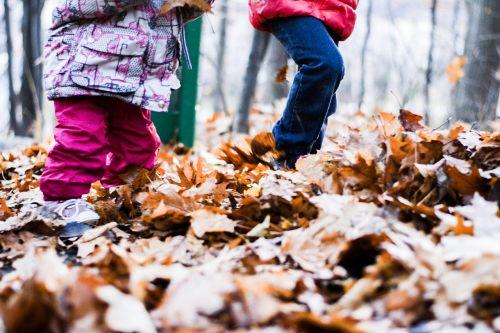 fall leaf children