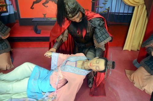 princesė, figūra, vaškas, gyvenimas, Kinija, dinastija, karališkasis, bajorai, nukritusi princesė