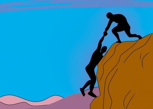 falling help man