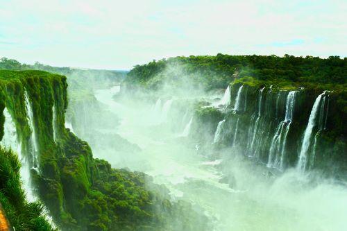 falls nature water