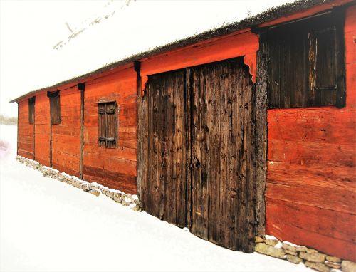 falurödfärg falun red barn