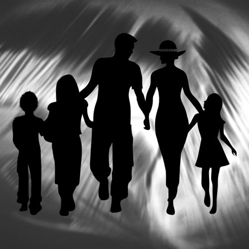 family together children