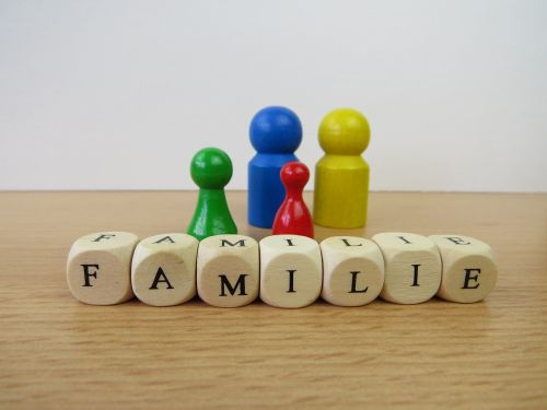 family family posing psychotherapy