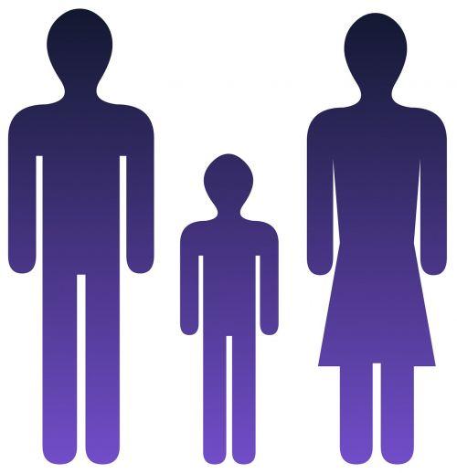 family icon blue