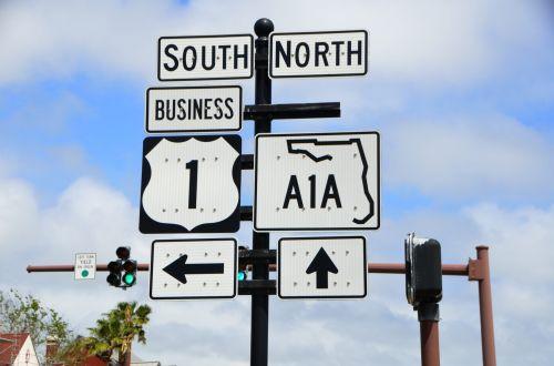 Famous A1A Sign