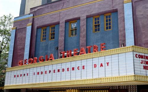 Famous Georgia Theatre