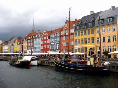 Famous Nyhavn Cityscape